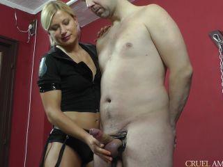"[CruelAmazons  Cruel-Mistresses] Mistress Zita-Spoiled in a cock sqeezer HD  """""