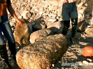 Dual Domination – The Mean Girls – Foot Sweat For Survival – Goddess Platinum and Goddess Tina