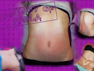My belly devastated full video part 3 fantasy of paula belly punch abs
