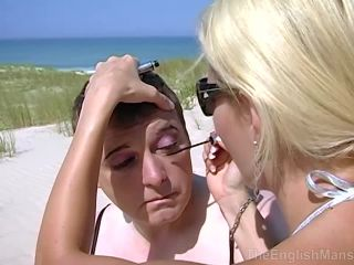 Sissification – The English Mansion – Beach Maid – Part 2 – Lady Natalie Black and Mistress Vixen