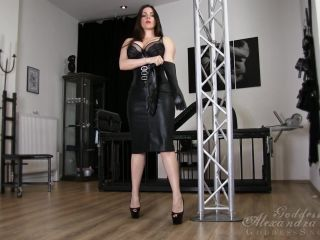 goddess alexandra snow  in my cage  financial domination