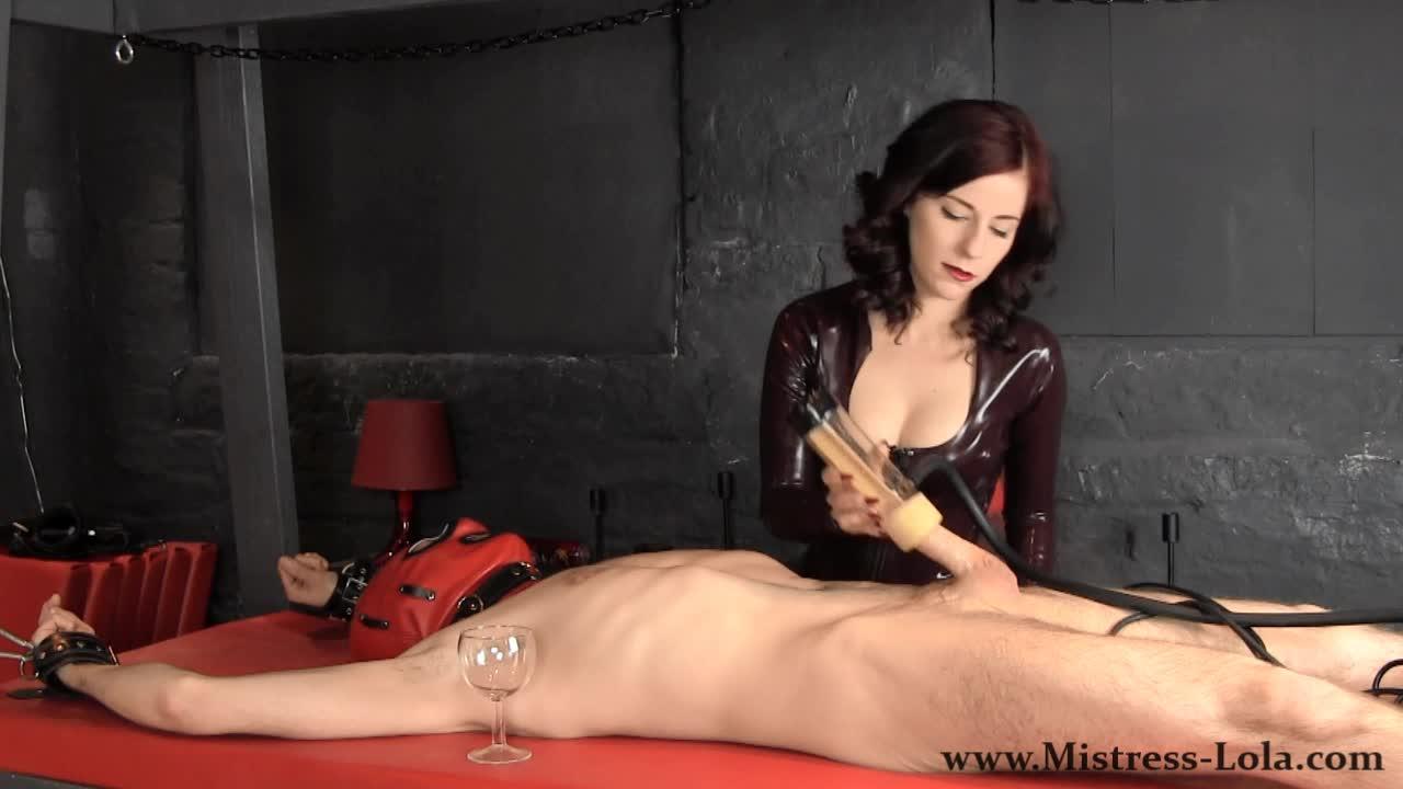 Mistress Lola Ruin Femdom Fetish Slave Gets Fed His Ruined