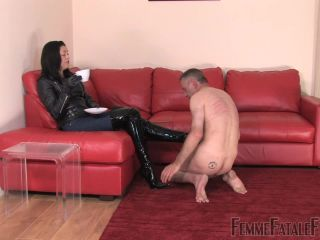 Femme Fatale Films — Clean My Boots. Starring The Hunteress