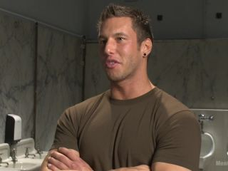 College jock gets a crash course in edging while bound to the urinals - Kink  May 26, 2015