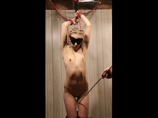 Rough Tied up Teen BDSM