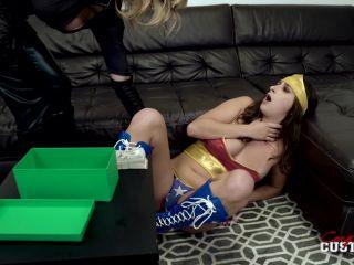 Ashley Adams in Wunder Woman vs Kat Woman