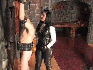Mistress Ezada Sinn  Whipped on the cross