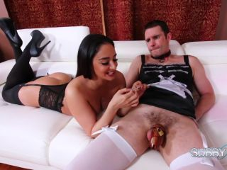 Degradation – Subby Hubby – Sheena's Hubby Slave Part 4 – Chastity