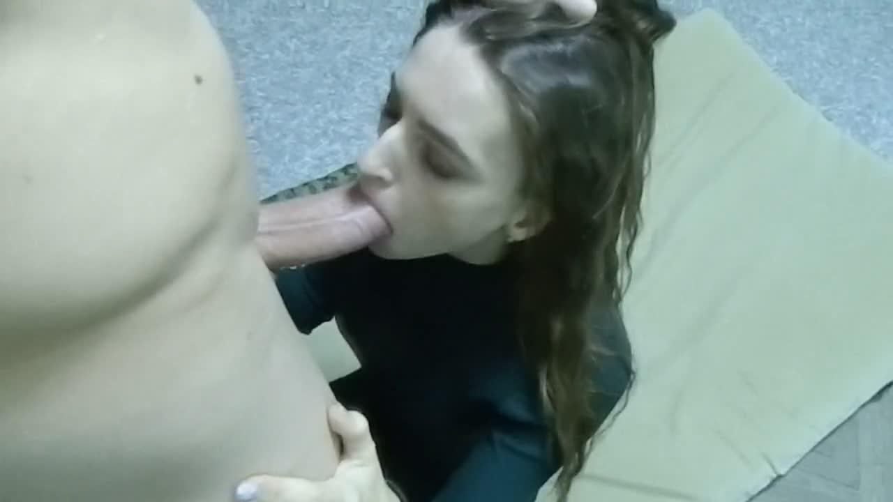 Sucking My Man Dick Cumshot