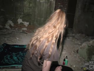 Areana Masturbating In An Abandoned Building With Gape Closeups 1 280