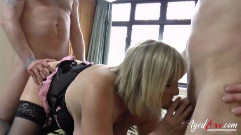 Alisha Rydes - British pornstar Alisha gets orgasm with Gabriel HD