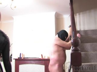 Boots – Femme Fatale Films – Frenzied Whipping – Part 1 – Mistress Athena and Mistress R'eal