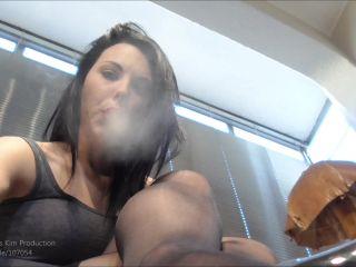 Online tube Young Goddess Kim - Human ashtray POV - Smoking