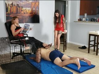 Porn online Cbt – Kink Therapy – Jenni and Morgana turn R into a puppy