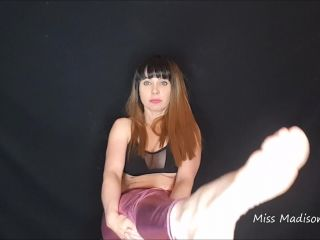 Porn online Jerk to my feet – miss madison stone – Shiny Spandex Foot Worship