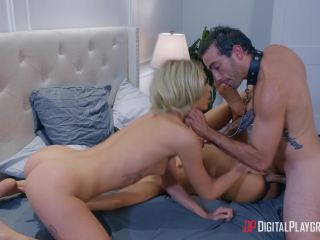Adriana Chechik, Emma Hix in A Cold Night In December Part 3
