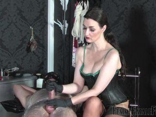Cock Slapping – FemmeFataleFilms – Milking Torment – Complete Film – Lady Victoria Valente
