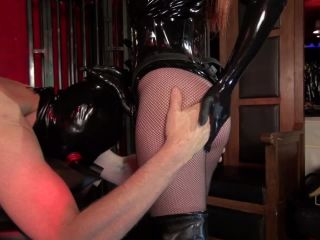 Kinky Mistresses  The Strap-on Slut of 2 Ladies. Starring Goddess Maya Liyer & Governess Painless