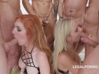Red Vs Blond #2 Lauren Phillips & Natalie Cherie following with Balls Deep Anal, Gapes, Multiple DAP, Messy Cumshot GIO705 / 10.07.2018