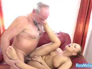 Ornella Morgan / Ugly old fucker bangs a beauty
