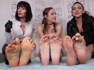 Lauren Kiley, Andrea Untamed, Stella Liberty - Triple Foot Humiliation