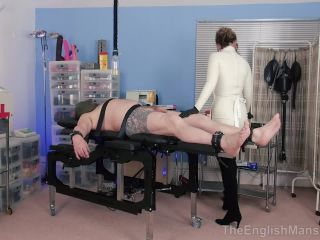 The English Mansion Mistress Inka: Dr Domme (Part 1 of 4) BDSM porn video and captions, femdom bdsmlr on handjob