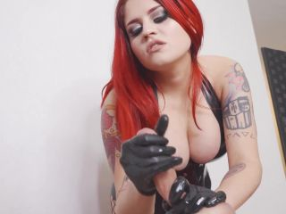   handjob / milking   fetish porn lipstick fetish