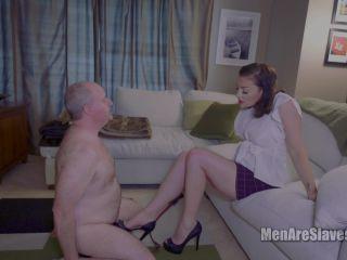 MenAreSlaves: Sovereign Syre - Serve Me Slave, Part 2 | corporal punishment | big tits mz berlin femdom