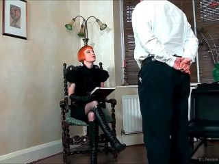 d l femdom productions  a repeat judicial  bare bottom spanking
