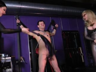 Nine Hartley – Cybill Troy FemDom Anti-Sex League – Foreskin Torture & Cock Whipping – Cybill Troy & Nina Hartley