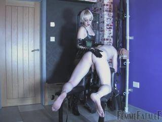 Femmefatalefilms – Femme Fatale Films – The Sting – Mistress Petite