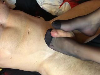 Brought my Husband to Orgasm with her Legs