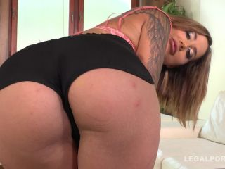 Horny slut Heidi Van Horny rides two hard dicks & gets double prated FS025 / 03.11.2018