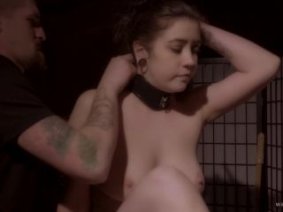 Online video bdsm wasteland: cat belmont collared by a kinky photographer