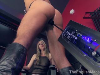 Theenglishmansion - Mistress Sidonia - Strung Up Machine Fuck Part 1-2!!!