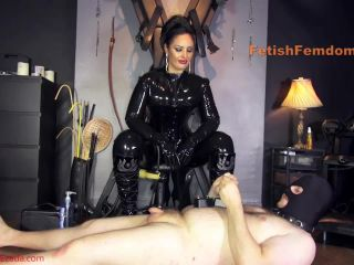 Mistress Ezada Sinn  Ten seconds to cum or ten months in chastity [Forced Orgasm, Orgasm Control, CBT, Post Cum Torture]