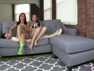 Porn online Brat Princess 2 – Amadahy and Kendall – Share a Snack on a Human Couch [Dual Domination, Double Domination] femdom
