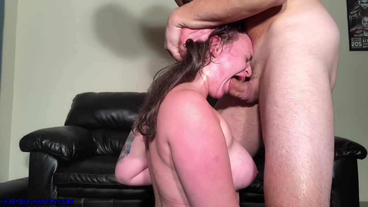 Extremely Rough Throat Fuck