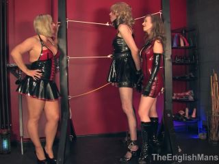 Femdom – The English Mansion – Two For Tease – Complete Film – Lady Nina Birch and Mistress T