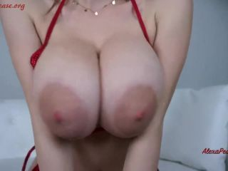 Tit Worship JOI Oil And Cummed On