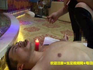 Chinese school femdom foot worship