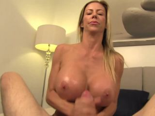 Alexis Fawx in Pegged by Mom with her black dildo