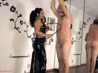 Porn online Mistress Ezada Sinn – Whipped for his birthday femdom
