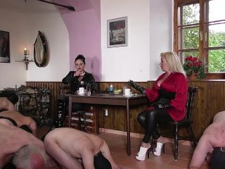 Human Furniture – OWK – THE OTHER WORLD KINGDOM – TRAINING IN THE PUB