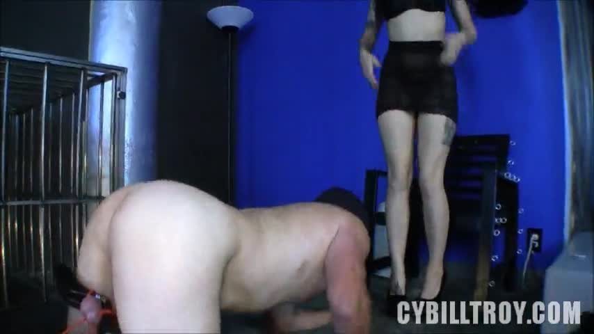 Mini skirts thong spank