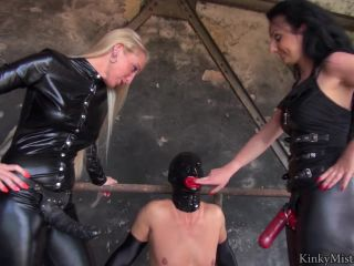 Strap-on Sucking – KinkyMistresses – The Slave With The Red Mouth – Complete Film Starring Kacy Kisha and Lady Luciana