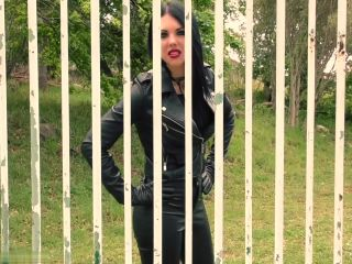 Young Goddess Kim – Caged and Enslaved – Boot Worship – Goddess Worship, Young Mistress - smoke - lesbian latina fetish