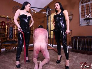 Clubdom - Goddess Cheyenne, Lydia Supremacy - Interrogation In Hell, Caning of His Life and Whipping For Compliance