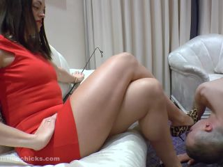 Female Domination – Ball Busting Chicks – Overstepping his bounds – The Hunteress