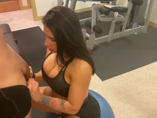 Pornhub.com - yinyleon - Fit Latina Ended up getting a Rough Anal Fuck in the Gym  on pov big ass enjoy